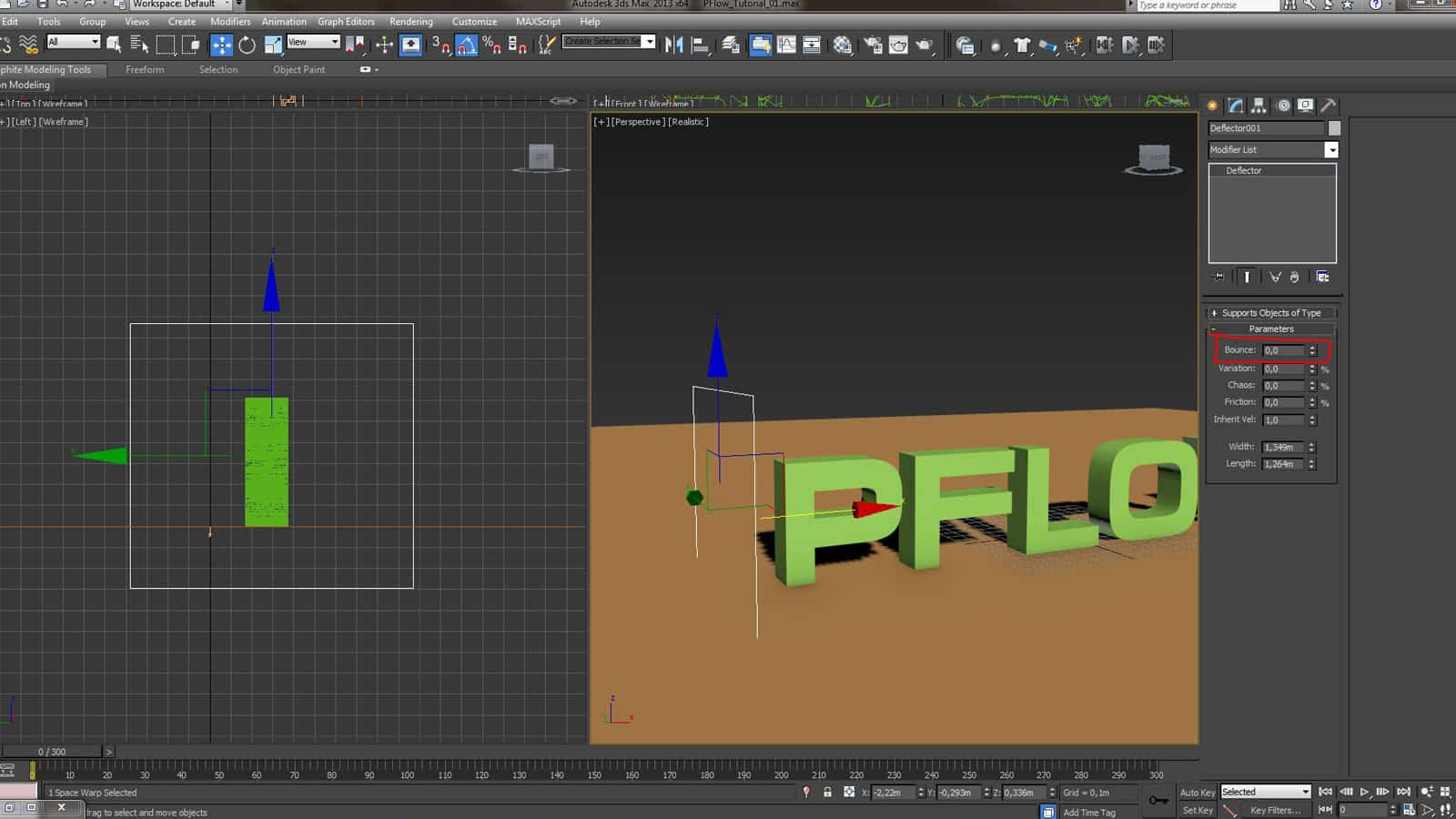 Tutorial about PFlow in 3ds Max | Geminus 3D