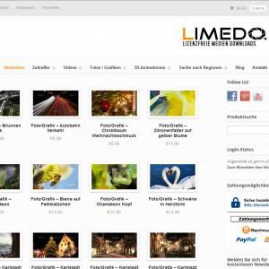 Unser Webshop Limedo.de ab heute online