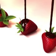 Schokolade-flüssig-Erdbeeren- (2)
