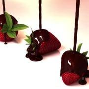 Schokolade-flüssig-Erdbeeren- (3)
